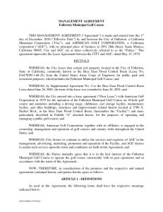 thumbnail of Fullerton – Management Agreement 12 01 10 – FULLY EXECUTED