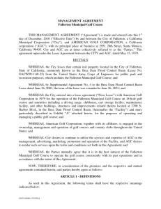 Fullerton golf course thumbnail of fullerton management agreement 12 01 10 fully executed platinumwayz